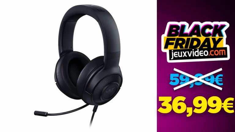Black Friday : Le casque Razer Kraken X à 36,99€ sur Amazon