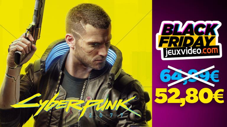 Black Friday : Cyberpunk 2077 à -18% chez E.Leclerc