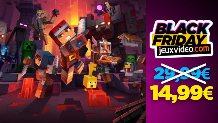 Black Friday : Minecraft Dungeons Hero Edition à 14,99 € chez Auchan