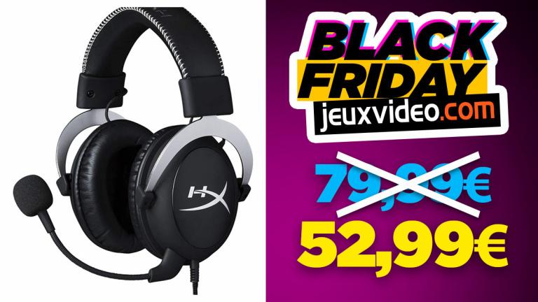 Black Friday : le casque HyperX Cloud X (HX-HS5CX-SR) à moins de 53 € sur Amazon