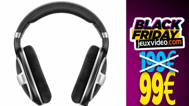 Black Friday : Le casque Sennheiser HD599 Edition spéciale à -50% chez Amazon