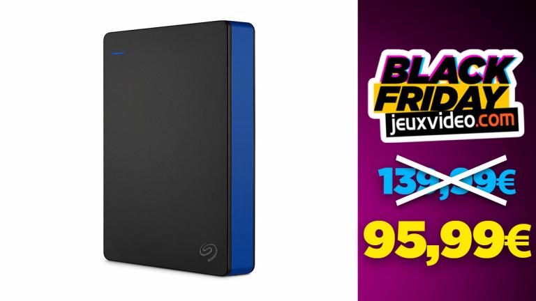 Black Friday : Le disque dur Seagate 4 To à moins de 100€ sur Amazon