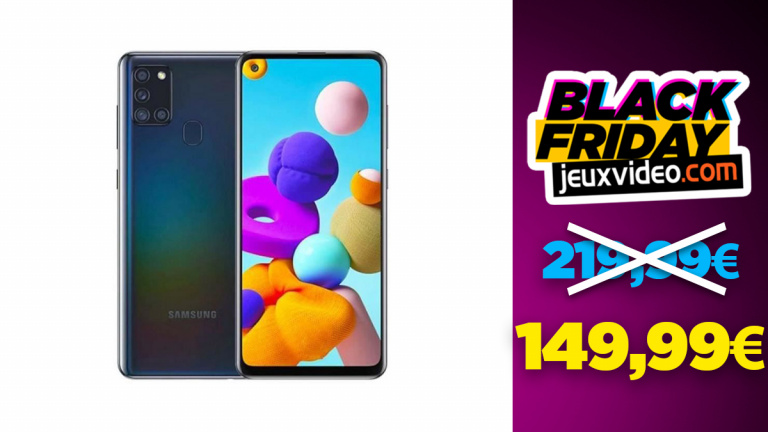 Black Friday : Le Samsung Galaxy A21s à 149,99€ sur Cdiscount