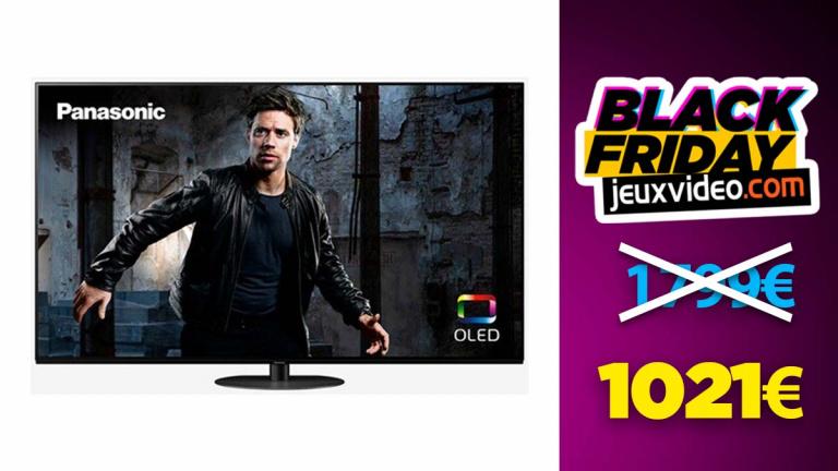 "Black Friday : TV OLED Panasonic 55"" à -43% chez Darty"