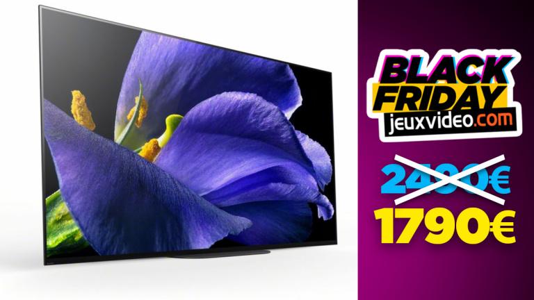 Black Friday : La TV OLED haut de gamme Bravia KD55AG9 (4K, HDR) propose une réduction de 700 € chez Boulanger