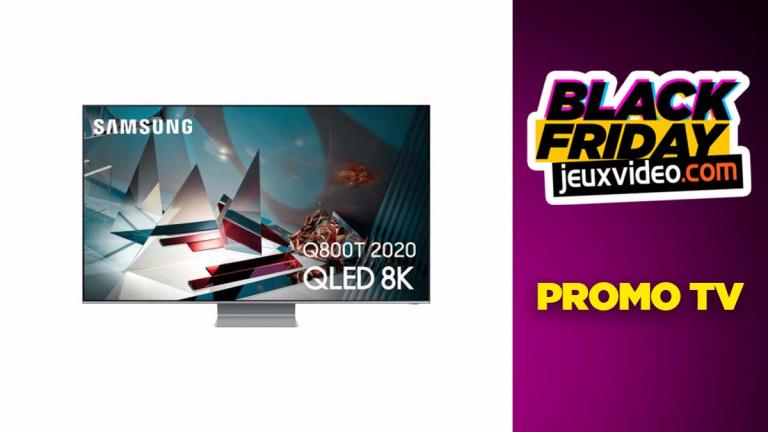 Black Friday : TV 4K, 8K, QLED et OLED en promotion chez la fnac