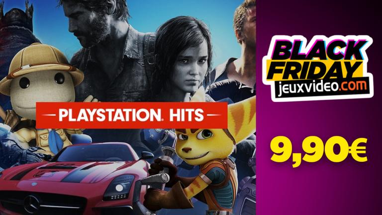 Black Friday : Les Hits PS4 à 9,90 € chez Amazon