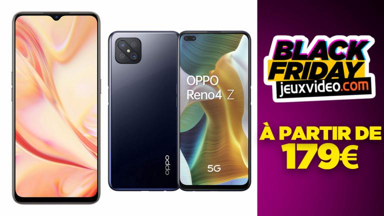 Black Friday : La gamme de smartphones OPPO à partir de 179 € chez Amazon