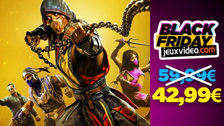 Black Friday : Mortal Kombat 11 Ultimate PS4/PS5 et Switch à -28% chez Auchan
