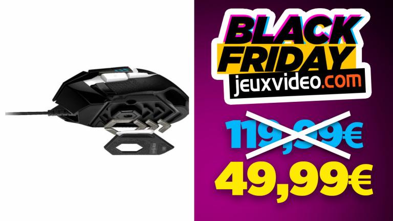 Black Friday : la souris Logitech G502 SE Hero à moins de 50 € sur Rue du commerce