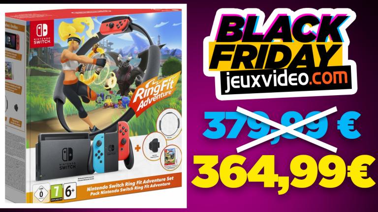 Black Friday : Le Pack Nintendo Switch + Ring Fit Adventure en promo chez Boulanger
