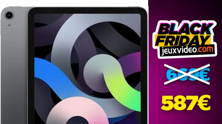 Black Friday : l'iPad Air 2020 à 587,99€ chez Rakuten