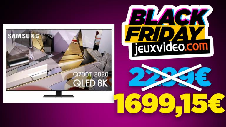 Black Friday : La TV Samsung Q700T 8K à -26% sur la Fnac