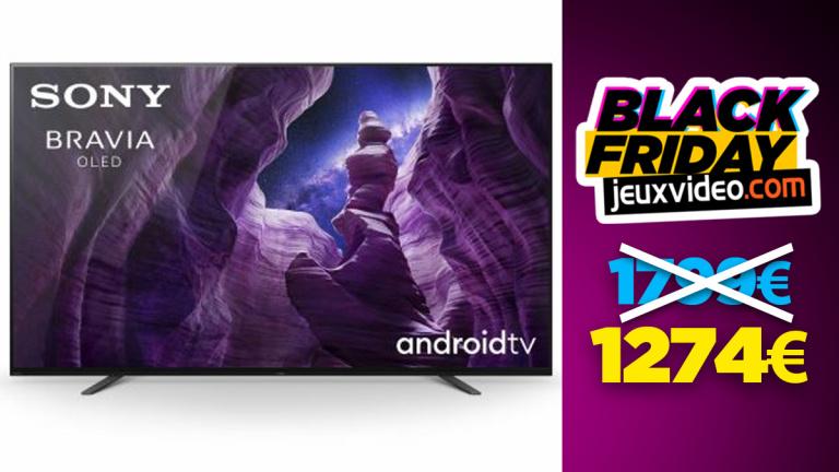 Black Friday : La TV Sony Bravia KD55 4K réduit à nouveau les prix chez la Fnac