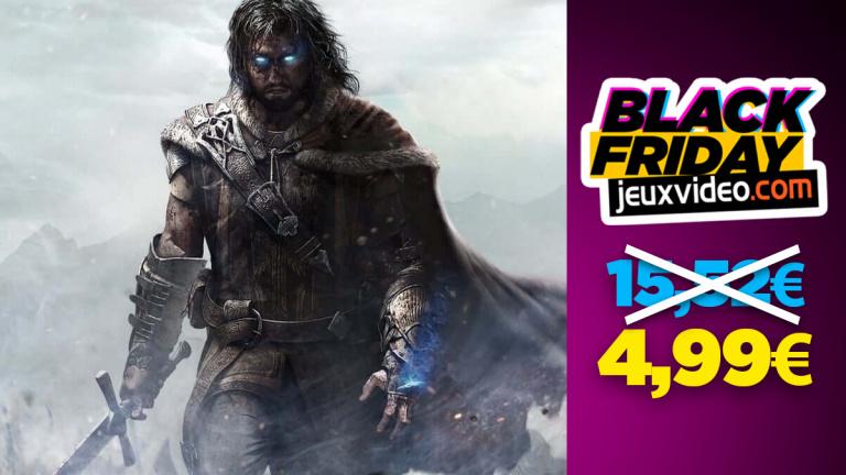 Black Friday : La Terre du Milieu : L'Ombre de la Guerre à moins de 5 € sur Xbox One chez la Fnac