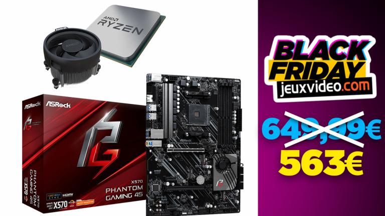 Black Friday : Le processeur AMD Ryzen 9 3900 + la carte mère ASRock à 563 € sur Top Achat