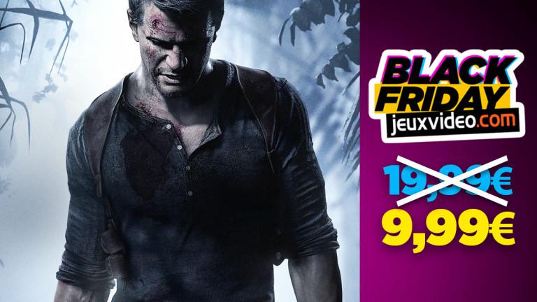 Black Friday : Uncharted 4 : A Thief's End à 9,99 € chez la Fnac