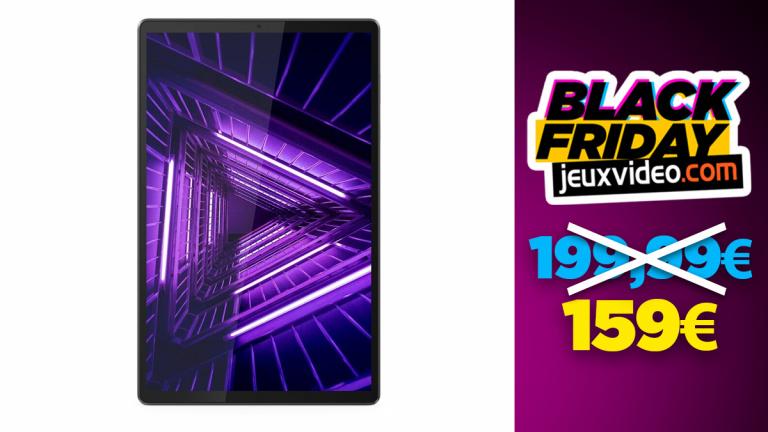 Black Friday : La tablette Lenovo TAB M10+ de 10 pouces à -21% chez Darty