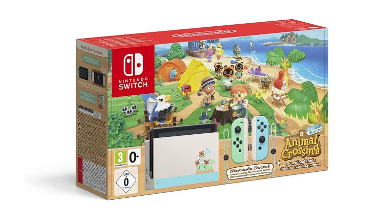 Cyber Monday : Le Pack Switch édition Animal Crossing baisse encore son prix sur Leclerc