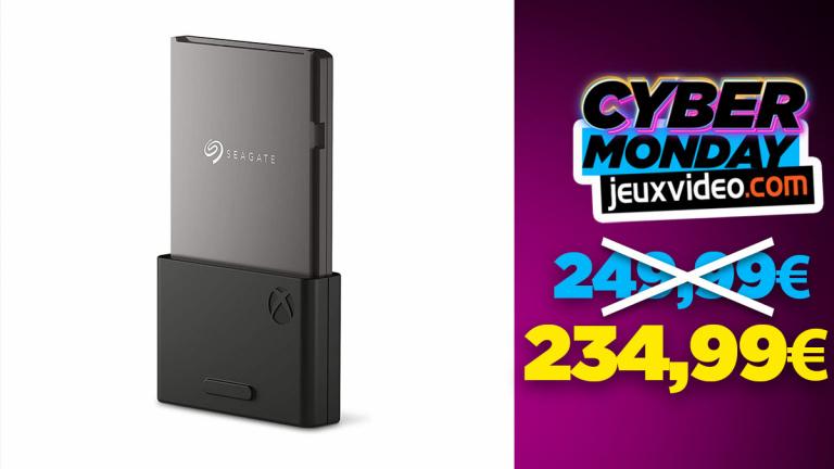 Cyber Monday : La Seagate Expansion Card pour Xbox à moins de 235 € sur Amazon