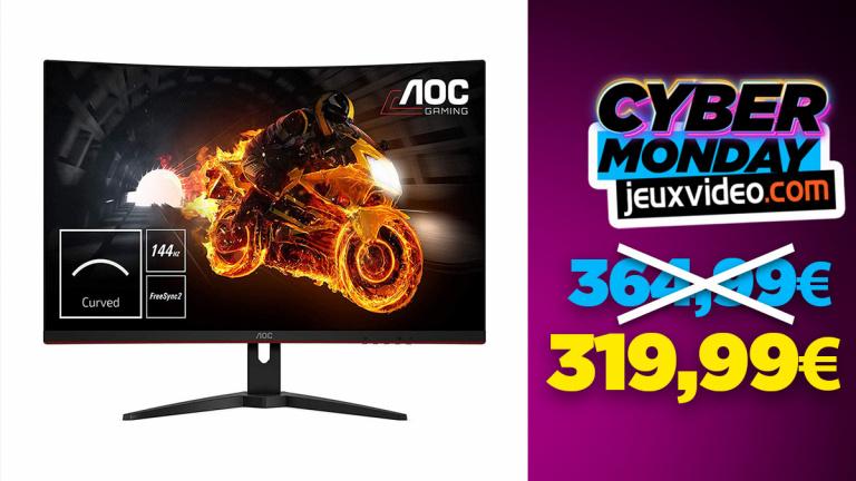 Cyber Monday : L'écran PC AOC CQ32G1 à 319,99 € chez topachat.com