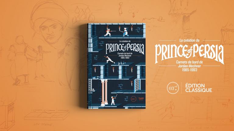 Prince of Persia : Un ouvrage en collaboration avec Jordan Mechner dévoilé