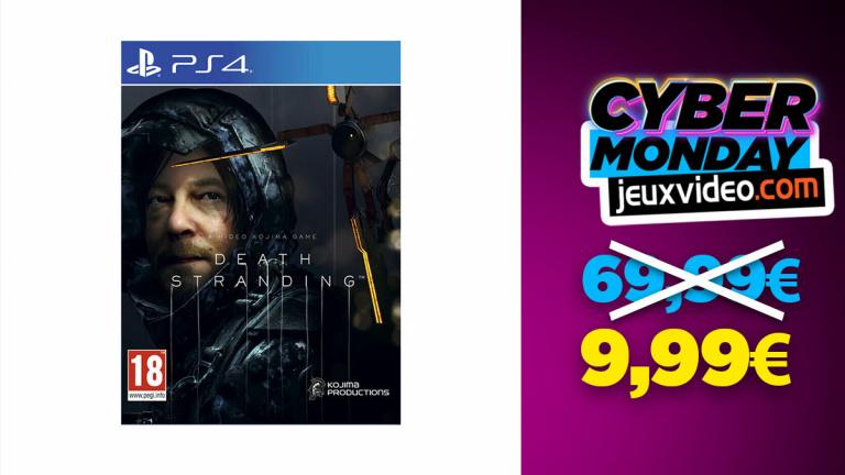 Cyber Monday : Death Stranding sur PS4 à moins de 10€ sur Micromania