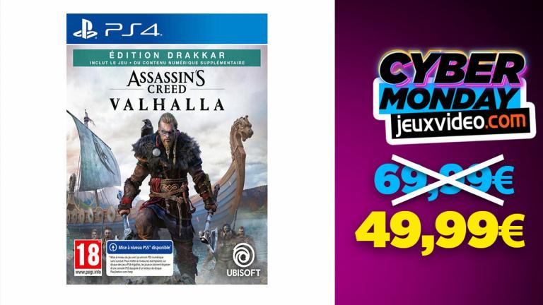 Cyber Monday : Assassin's Creed Valhalla Edition Drakkar à moins de 50 € sur Micromania