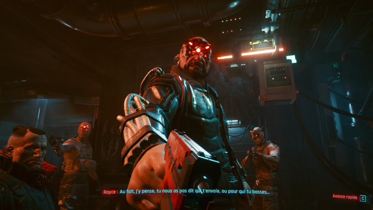 La campagne de Cyberpunk 2077