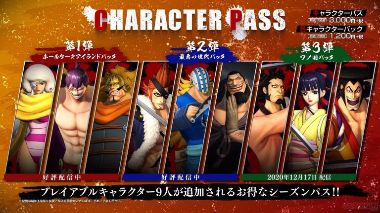 One Piece Pirate Warriors 4 : le Wano Country Pack arrive avec Kozuki Oden, O-Kiku et Kinemon