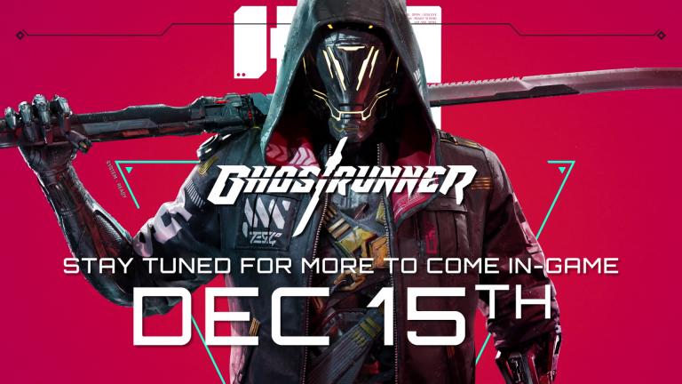 Ghostrunner dévoile ses bonnes notes et tease du nouveau contenu