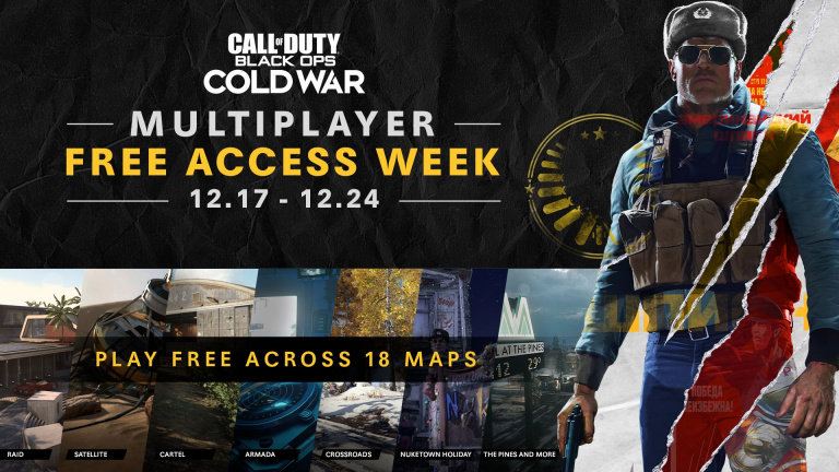 Call of Duty : Black Ops Cold War - Le mode multijoueur est disponible gratuitement pendant une semaine