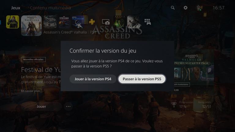 PS5 : Une mise à jour clarifie le lancement des jeux cross-gen
