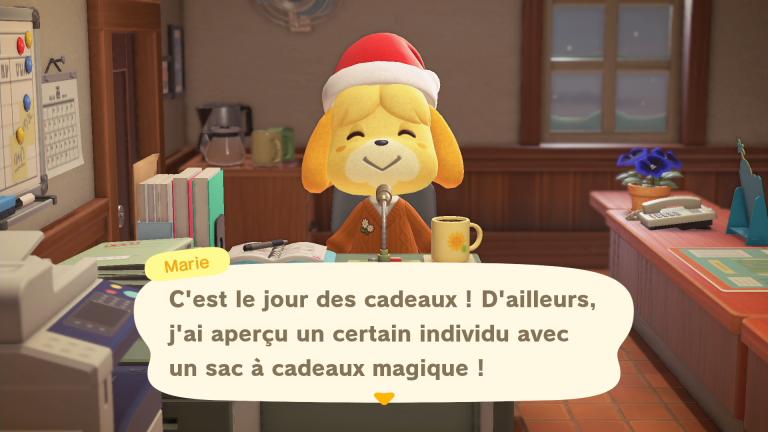 Animal Crossing New Horizons, événement Jour des Cadeaux : notre guide complet