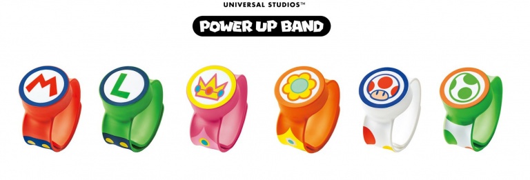 Super Nintendo World : Plus d'informations dévoilées sur les Power Up Band