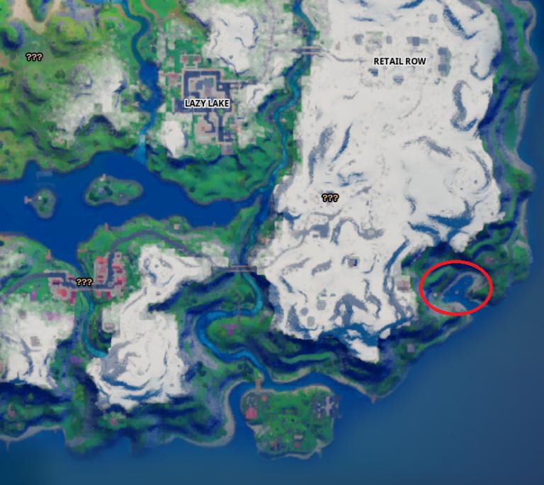 Fortnite, saison 5, quête journalière : détruire des bateaux