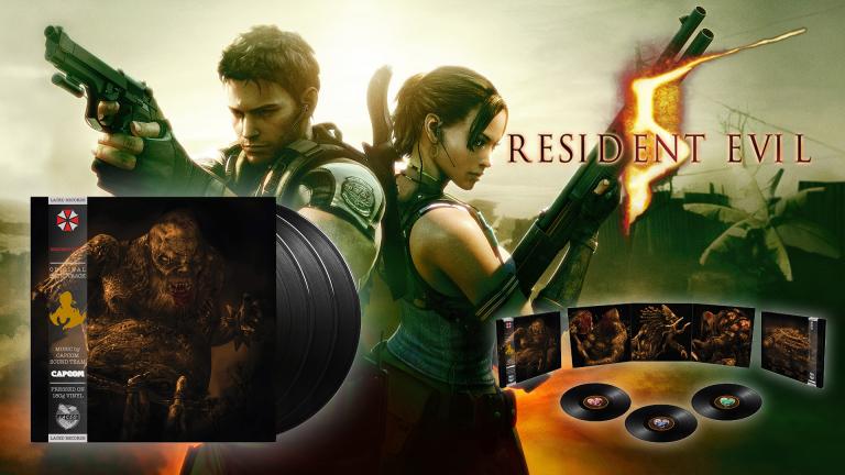 Resident Evil 5 : La bande-son proposée sur triple vinyle