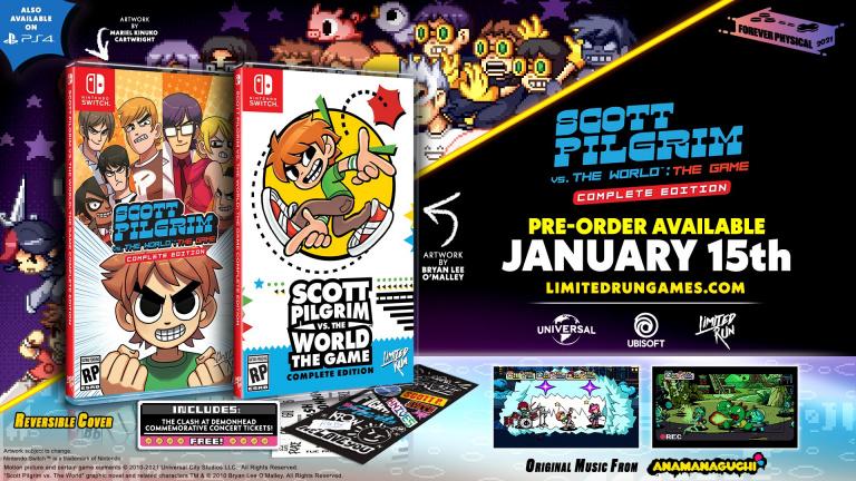 Scott Pilgrim vs. The World : Complete Edition - Trois éditions physiques annoncées