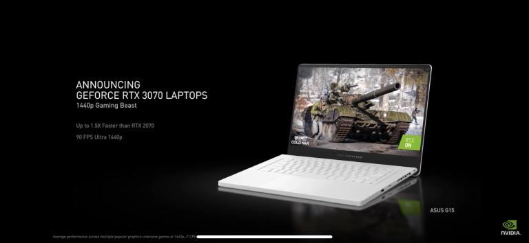 CES 2021 : Suivez la conférence de Nvidia via notre live-feed
