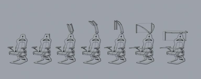 CES 2021 : Masque intelligent et fauteuil gaming transformable chez Razer