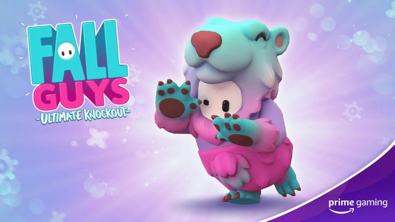 Fall Guys : le pack Slushie Bear disponible pour les abonnés Prime Gaming
