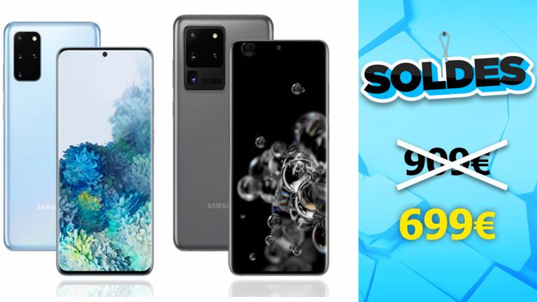 Soldes Samsung : Le Galaxy S20 est en promotion chez Darty