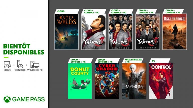 Xbox Game Pass : le programme de fin janvier annoncé (Desperados 3, The Medium, Yakuza...)