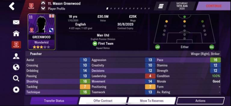 Football Manager 2021 : les pépites au poste de buteur, notre guide