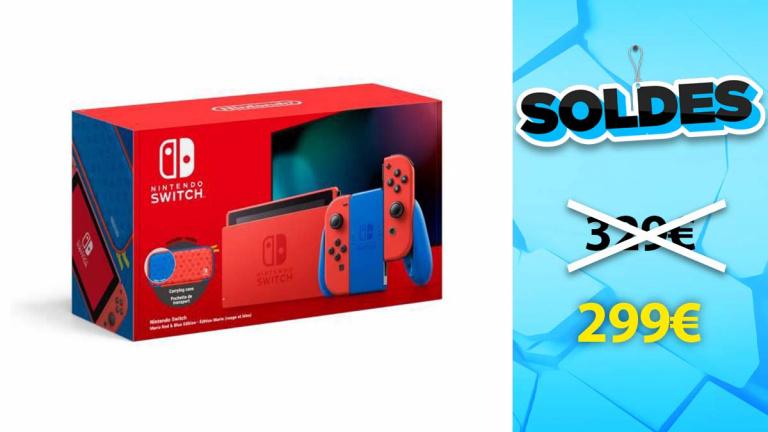Soldes Nintendo : La console Switch Edition Spéciale Mario en promotion