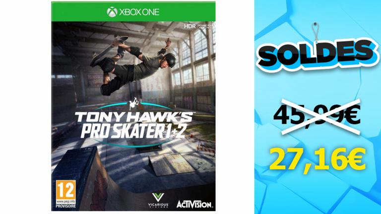 Soldes Amazon : Tony Hawk's Pro Skater 1+2 sur Xbox One en réduction de 40%