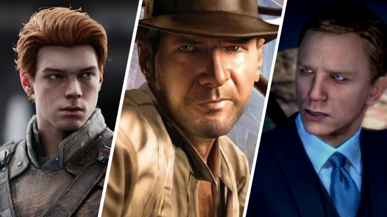 Star Wars, Indiana Jones, James Bond: The comeback of Games adapted from Films?