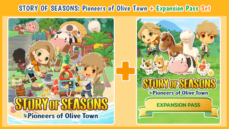Story of Seasons : Pioneers of Olive Town accueille un Pass d'extension