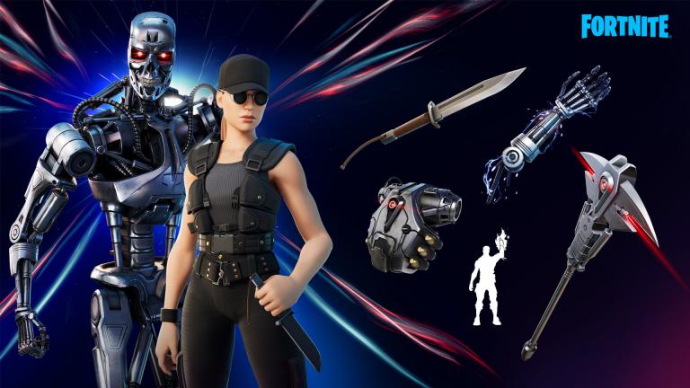 Fortnite : Après le Predator, le T-800 et Sarah Connor de Terminator