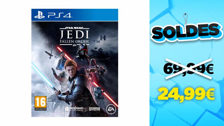 Soldes PS4 : Star Wars Jedi : Fallen Order à -64%